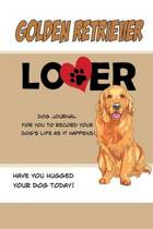 Golden Retriever Lover Dog Journal