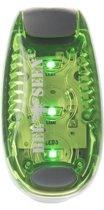 Bee Seen - Verlichting  - Led Clip Light - Groen - LED  - one size - Hardlopen - Jogging - Hardloop verlichting - Hardloop lampje - Veiligheid - Hond
