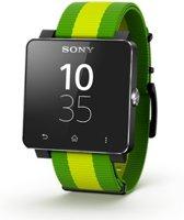 Sony SmartWatch 2 - Fifa/Groen met siliconen band