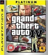 Take-Two Interactive Grand Theft Auto IV - Platinum Edition (PS3) PlayStation 3 video-game