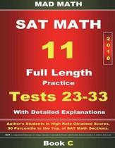 2018 New SAT Math Tests 23-33 Book C