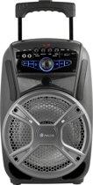 NGS Wild Grunge - 35W - Bluetooth speaker - Draadloos - Zwart, Zilver
