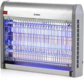 DOMO Insectendoder met uv-verlichting 20 W 2500 V zilverkleurig
