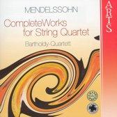 Mendelssohn: Complete Works For   Q