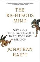 Boek cover The Righteous Mind: Why Good People Are Divided by Politics and Religion van Jonathan Haidt