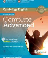 Complete Advanced Student's Book Without Answers with CD-ROM with Testbank