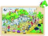 Puzzel Op bezoek in de Zoo