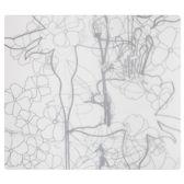 Modern Twist Floral Placemat - 40 x 35 cm - Indigo