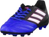Adidas ace 17 4 fxg junior zwart wit blauw bb5592, maat 38
