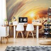 Fotobehang Watch Mechanism Time | VEXXXL - 416cm x 254cm | 130gr/m2 Vlies