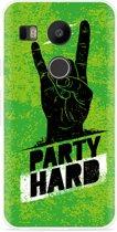 LG Nexus 5X Hoesje Party Hard 3.0