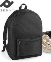 Senvi Rugzak-Backpack Kleur Zwart 20 Liter Waterbestendig Stof
