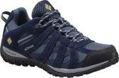 Columbia Redmond Waterproof - dames - wandelschoen - laag - blauw - maat 38