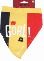 Martin Sellier - Halsband Voor Dieren - Bandana - Supporter Belgie - T 2- Multi - Maat M