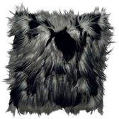 Dutch Decor Sierkussen Jimm 45x45 cm zwart