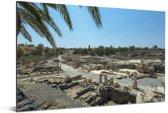 Uitzicht over Beit She'an in Israël Aluminium 30x20 cm - klein - Foto print op Aluminium (metaal wanddecoratie)