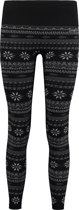 O'Neill Sportlegging Base Layer Jacquard - Black Aop W/ White - M