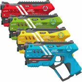 Light Battle Anti-Cheat lasergame set met 4 laserguns