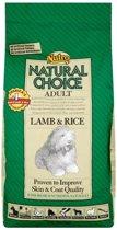 Nutro Choice Dog Adult - Lam & Rijst - Hondenvoer - 2 kg