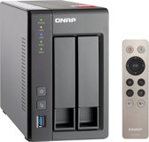 Qnap Turbo Station TS-251+ 2GB RAM - NAS - 0TB - Zwart