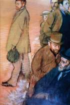 ''six Friends of the Artist'' by Edgar Degas - 1885