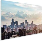 Zonsondergang in Beijing Plexiglas 90x60 cm - Foto print op Glas (Plexiglas wanddecoratie)