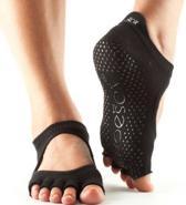 Toesox Bellarina sokken zonder tenen - zwart