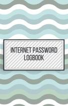Internet Password Logbook-Small Size Alphabetical Password Notebook Organizer-5.5''x8.5'' 120 pages Book 6: Keep Track of Usernames Passwords Websites-B