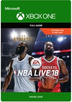 NBA Live 18 - Xbox One download