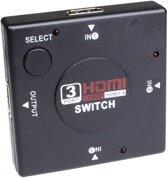 Konnekt-IT | HDMI switch splitter | 3 in | 1 uit | Full  HD | HDMI 1.4