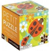 Petit Collage Puzzel Lieveheersbeestje 24-delig