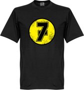 Barry Sheene No7 T-Shirt - Zwart - XL