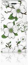 Motorola Moto Z Boekhoesje Design Dogwood Flowers