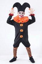 Halloween Nar kostuum voor kinderen 122-134 (7-9 jaar)