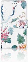 Huawei Honor 5X Uniek Boekhoesje Bird Flowers
