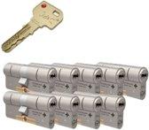 Cilinderslot - M&C Condor SKG*** 9 cilinders met 8 sleutels