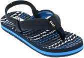 Reef Little Ahi Jongens Slippers - Water Blue - Maat 25/26