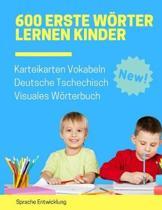 600 Erste W�rter Lernen Kinder Karteikarten Vokabeln Deutsche Tschechisch Visuales W�rterbuch: Leichter lernen spielerisch gro�es bilinguale Bildw�rte