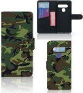 Telefoon Hoesje LG G8s Thinq Army Dark