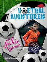 Boek cover Voetbalavonturen met Jackie Groenen van Lizzy Koppe - van Pelt (Paperback)