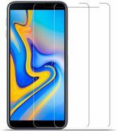 2X / 2Pack Samsung Galaxy J6+ (Plus) Beschermglas Screen Protector / Tempered Glass Screen
