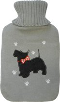 St. Helens Home & Garden Kruik met Kruikenzak - hond met strik