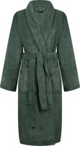 Livello Fleece Badjas Calvin Green XL
