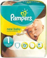 Pampers Baby luier New Baby Maat 1 - 222 stuks