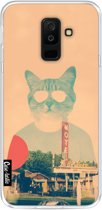 Casetastic Softcover Samsung Galaxy A6 Plus (2018) - Cool Cat