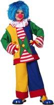 Carnavalskleding Clownspak kind Maat 164