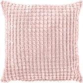 Sierkussen Rome 45x45 cm roze