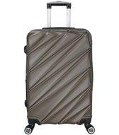 SHAIK® Luxe reiskoffer met cijferslot - Medium tot 40 liter - Antraciet