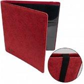 Blackfire Premium 12-Pocket Zip-Album - Red