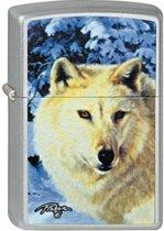 Aansteker Zippo Linda Picken White Wolf